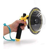 "TELESIN Dome Port GoPro camera accessoires, onderwater 6"" GoPro Dome Port Cover Case met waterdichte deksel Case…"