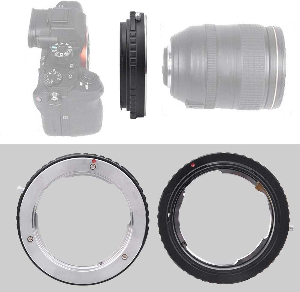 Bewinner Ring Converter for Camera,MD-EOS Camera Adapter Ring for MD Lens to for EOS Mount Cameras,Cost-Efficient Accessory for Photography Lovers