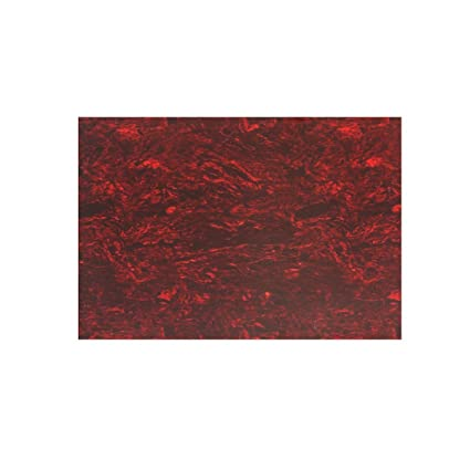 Amazon Com Red Tortoise Shell 20x25cm Celluloid Material Pickguard