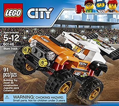 LEGO City Great Vehicles Stunt Truck 60146 Building Kit by LEGO