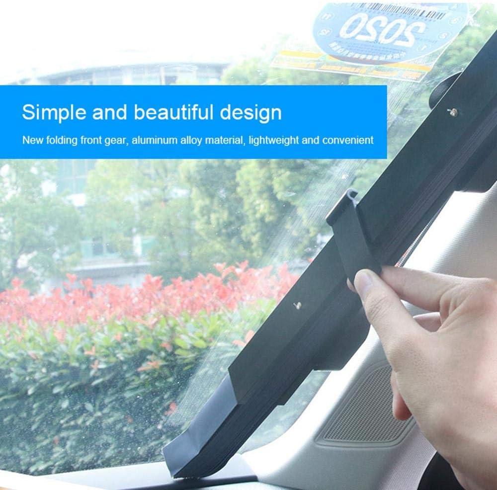 150X65 cm Parabrezza per Auto Parasole Telescopico Parasole Parasole Resistente ai Raggi UV Riflettore a espansione Libera Ombrellone per Mantenere Il Veicolo Fresco per Mantenere Il Veicolo Fresco