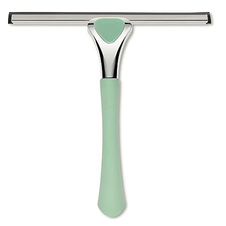 kela Vista - Limpiaparabrisas para baño (22,5 x 23,5 x 4 cm, sintético, 30 x 15 x 10 cm), Color Verde Menta: Amazon.es: Hogar