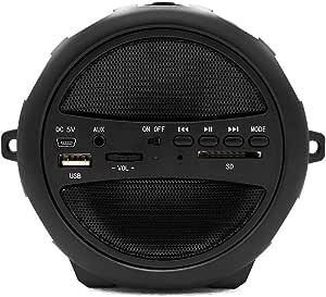 سماعة بلوتوث محمولة اللاسلكية أتش دي لاجهزة المتعددة اللون اسود