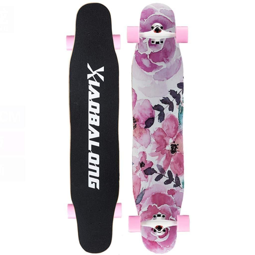スケートボード アクションスケートボードボーイガールスケートボード高速サイレントスケートボード (Color : C) C