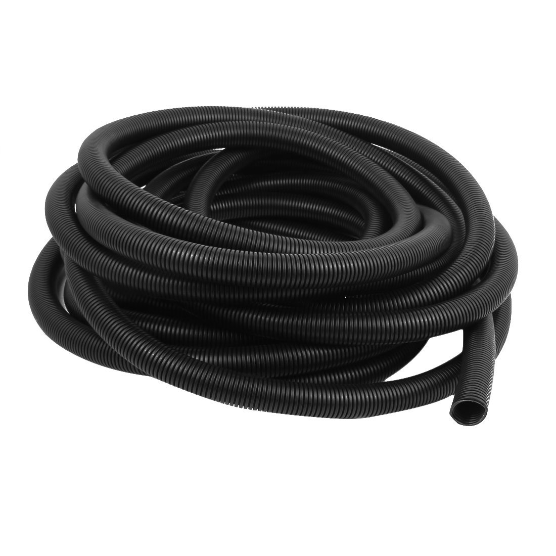 uxcell 3/4'' Flexible Wire Loom Tubing Electrical Cord Covers Wire Protector, 33 Feet