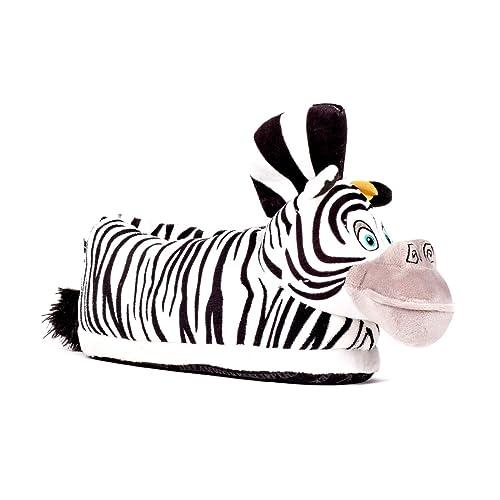 Sleeperz - Zapatillas de casa Marty la Cebra Originales - Madagascar - Adultos y