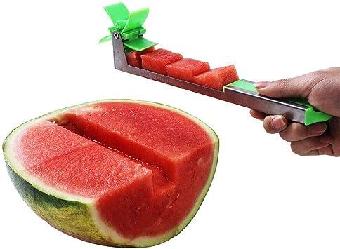 1x Watermelon Cutter Windmill Shape Plastic Slicer for Cutting Watermelon Tools