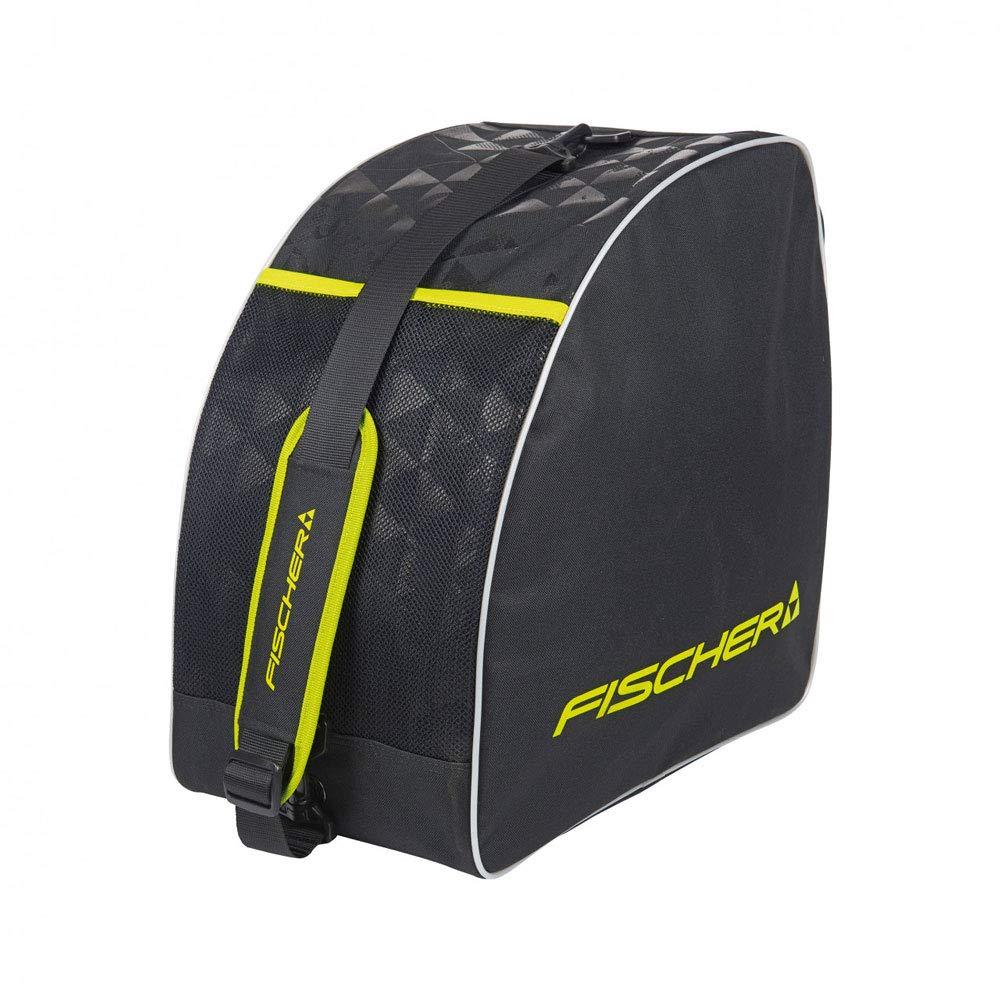 tama/ño fischer Alpine Eco Color Negro//Amarillo Bolsa para Botas de esqu/í