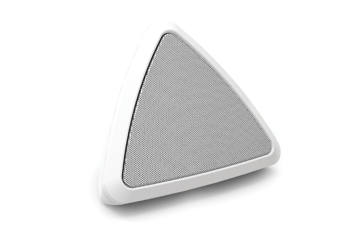 ION Audio Cornerstone | Water-Resistant Wireless Outdoor Speaker with Rechargeable Battery (Single)