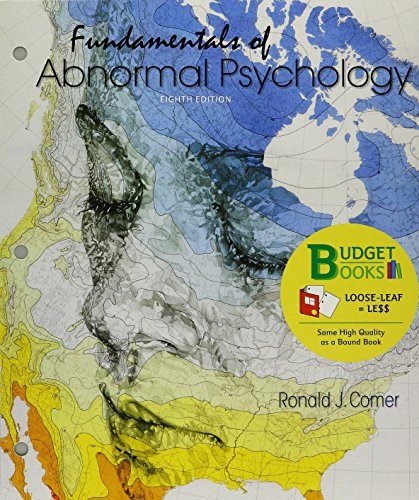 131906180X - Loose-leaf Version for Fundamentals of Abnormal Psychology 8e & LaunchPad for Fundamentals of Abnormal Psychology 8e (6 month access)