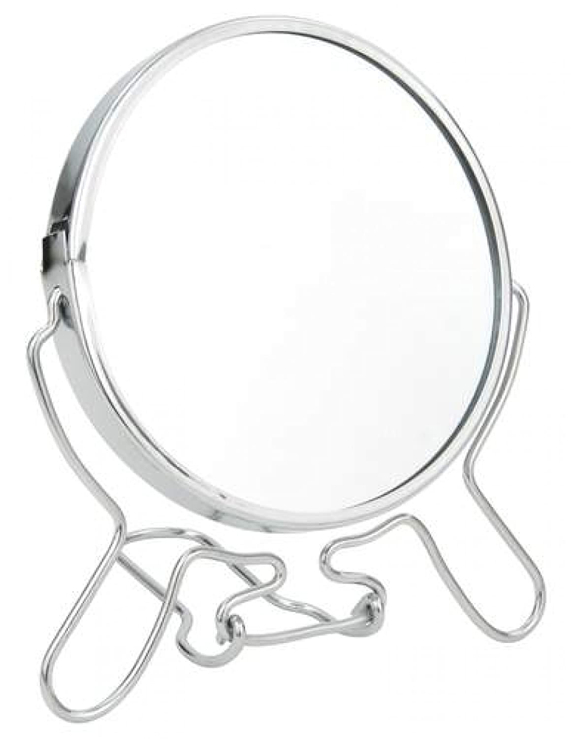 Double Sided Magnifying Mirror on Stand – 10 cm