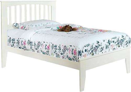 Furniture of America Cellini White Platform Bed