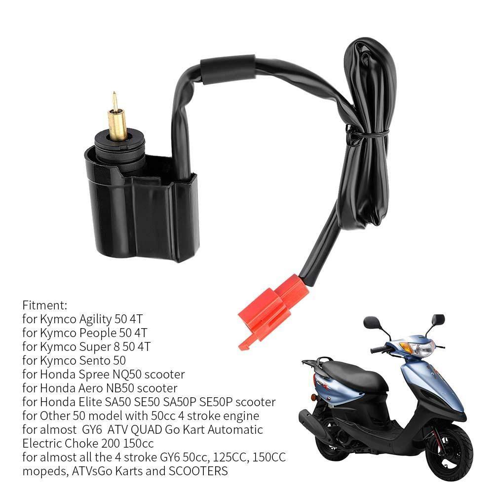 Vergaser Elektrischer Drossel automatischer elektrischer Drossel f/ür 50 4T Leute 50 4T