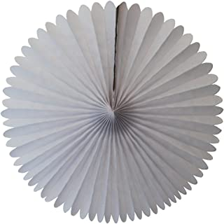 product image for 3-pack 13 Inch Tissue Paper Party Fans (White)