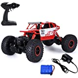 Ajudiya's Rock 1:18 Rechargeable 4Wd 2.4GHz Rock Crawler Off Road R/C Car Monster Truck Kids Toys | Remote Control Cars for Kids (Random Colour)