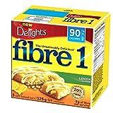 Fibre 1 Delights Bar Lemon Flavour, 5-Count, 125 Gram