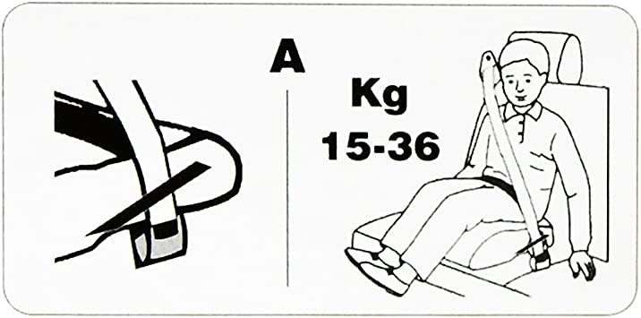 All Ride Kindersitzerhöhung Sitzerhöhung Kindersitz Autositz Kind Sitz Erhöhung Autokindersitz Bubu Grau Auto