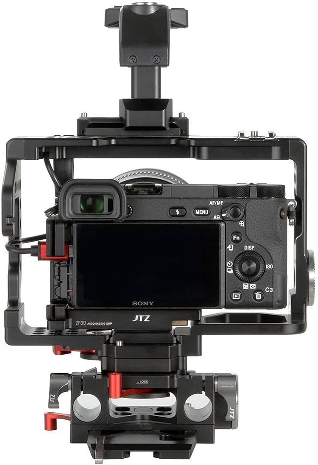 JTZ DP30 Quick Release Baseplate Plate for Sony A6000 A6300 A6500 Dslr Camera JL-JS7 Camera Cage Rig
