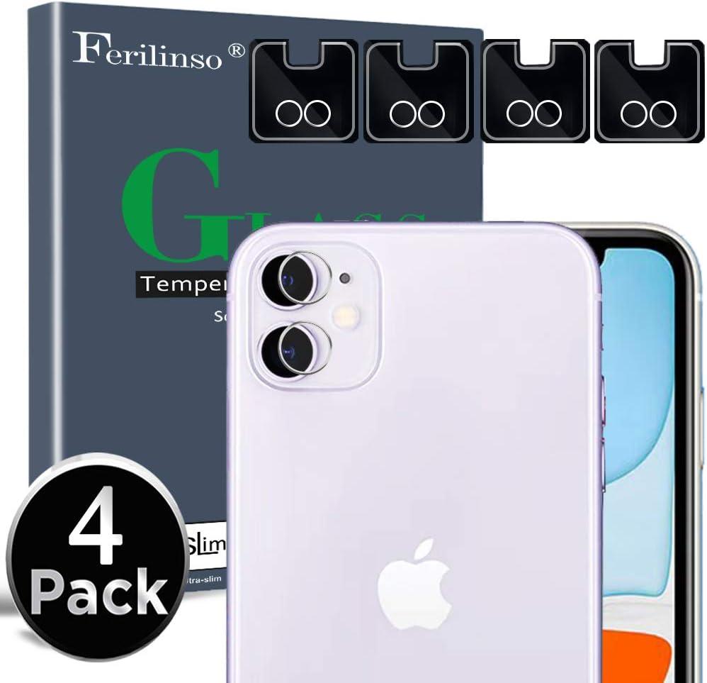Ferilinso Protector de Lente de cámara para iPhone 11 Protector de ...
