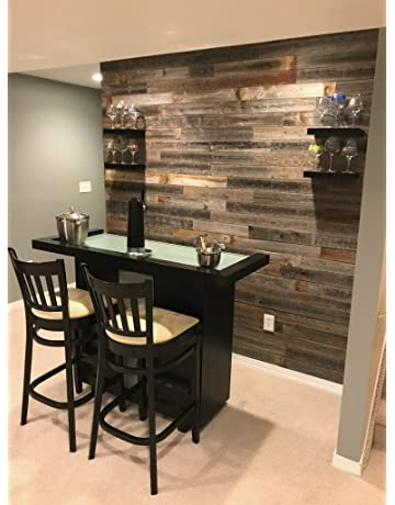 Real Weathered Wood Planks For Walls Rustic Reclaimed Barn Paneling Accent