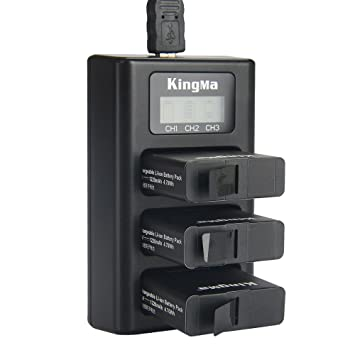 MASUNN Kingma Bm043 USB 3 Canal Batería De Tres Vías ...