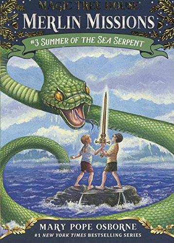 Summer Of The Sea Serpent (Turtleback School & Library Binding Edition) (Magic Tree House)