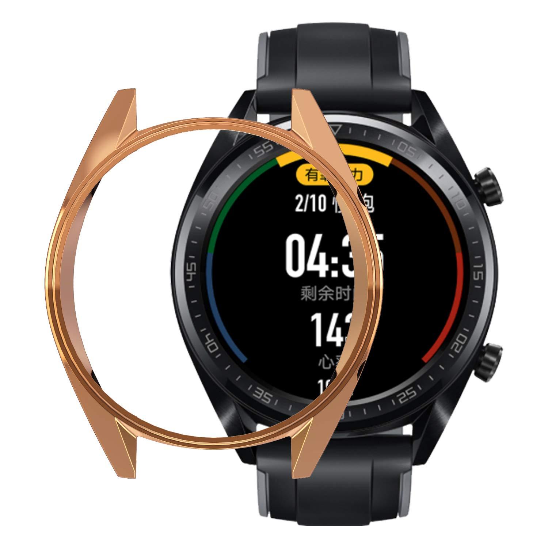 Amazon.com: for Huawei Watch GT Case,Soft TPU Fashion Metal ...