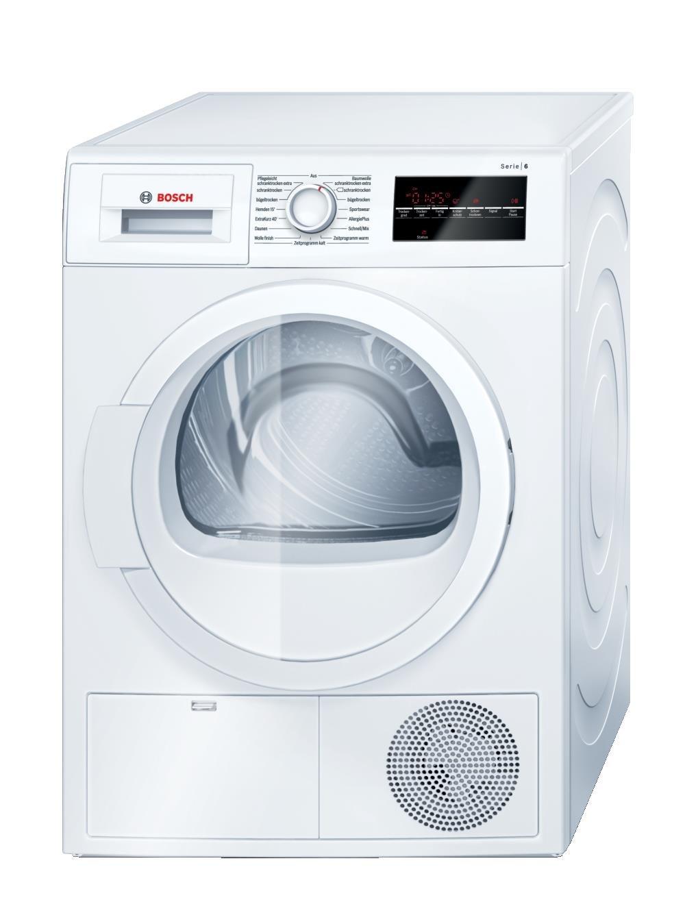 Bosch WTG86400 Serie 6 Luftkondensations Waschetrockner B 8 Kg