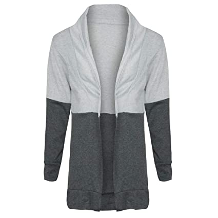 Clearance! HOSOME Women Cardigan Long Sleeve Spling Color Open Front Blouse Tops: Amazon.com: Grocery & Gourmet Food