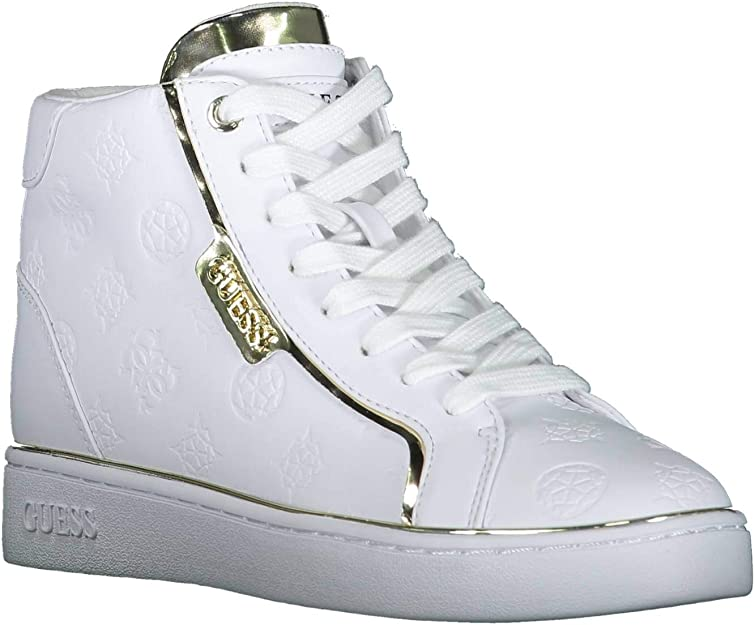 Guess Brina High Top Sneakers White