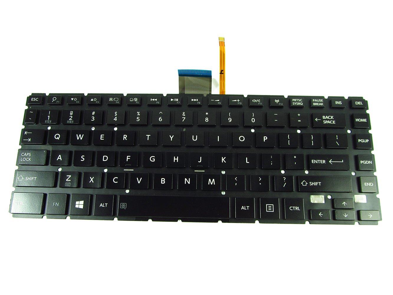 Original New Toshiba Satellite E45T-B4204 E45T-B4300 E45T-B4106 Backlit keyboard
