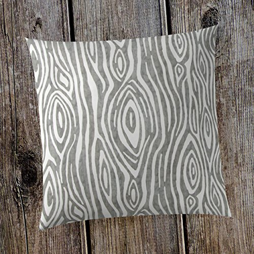 Glenna Jean Tree Trunk 18''x 18'' Pillow with Fill for Baby Nursery, Decorative Soft Cushion Square by Glenna Jean (Image #2)