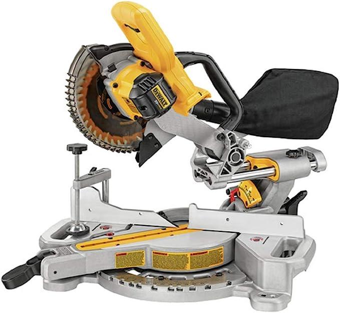 DEWALT 20V MAX 7-1/4-Inch Miter Saw, Tool Only (DCS361B) - - Amazon.com