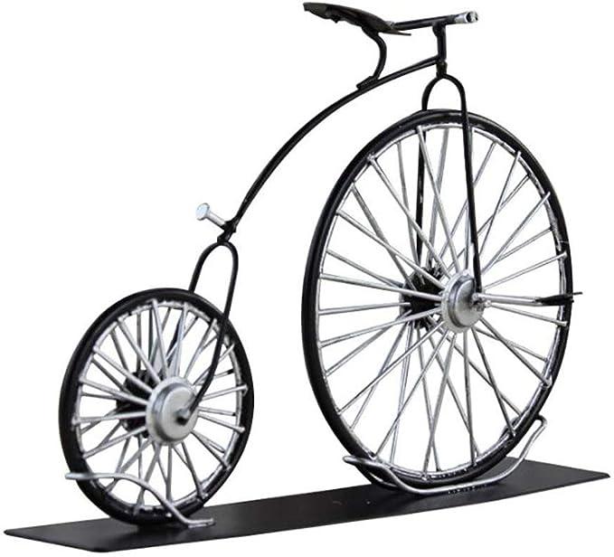 LIJUN Bici de la Lata/Modelo Grande de la Bici de la Rueda/Hierro ...