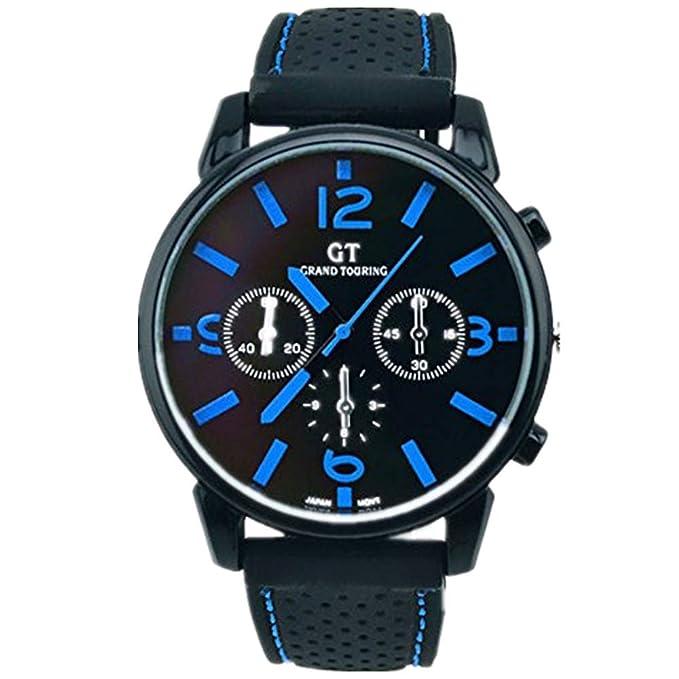 Amazon.com: Han Shi - Reloj de pulsera analógico de acero ...