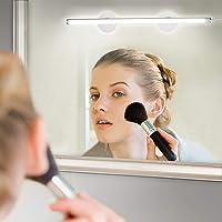 Spiegellamp LED LED spiegel lamp met schakelaar verlichting spiegel lamp voor make-up make-up licht voor spiegel make-up 6500 K daglicht dimbaar draagbaar voor kast thuis bad onderweg Outdoor