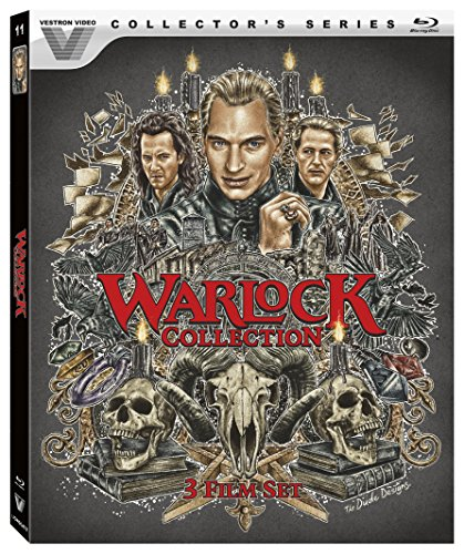 Warlock Collection Blu ray Julian Sands product image