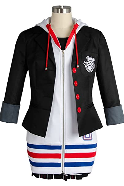 Persona 5 Ann Anne Megami Tensei Takamaki Cosplay Costume Halloween Custom Made