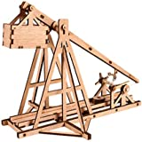 DESKTOP Wooden Model Kit Trebuchet by Young Modeler