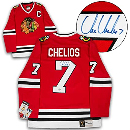 Chris Chelios Autographed Jersey - Retro Fanatics - Autographed NHL Jerseys ffa032576