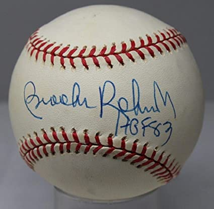 f5ed4f0cc0f Image Unavailable. Image not available for. Color  Brook Robinson Autographed  Signed Oal Baseball Autographed Signed Orioles - JSA Authentic Memorabilia  ...