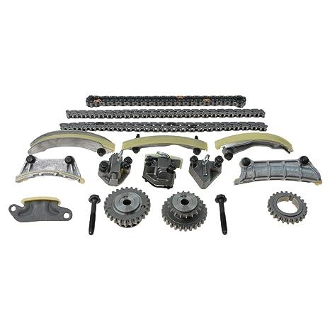 Encendido de Motor Tensor de cadena correa de distribución Guía Rail Kit Set para lacrosse cts