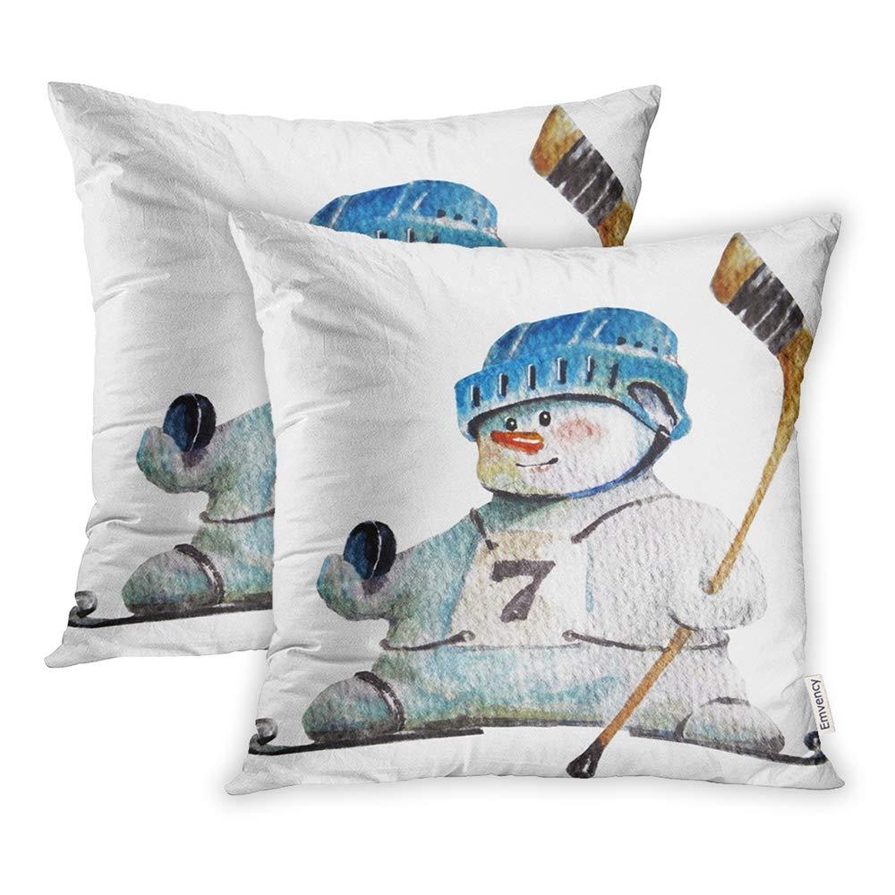 Amazon.com: Emvency - Juego de 2 fundas de almohada de ...