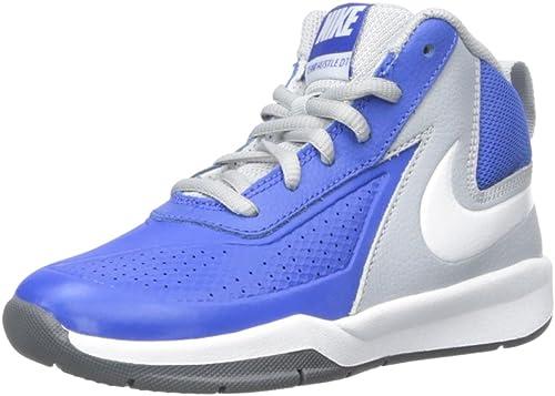 Nike Team Hustle D 7 (PS) - Zapatillas de baloncesto, Niños, Azul ...