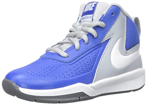 744496f7 Nike Team Hustle D 7 (PS) - Zapatillas de baloncesto, Niños, Azul / Blanco  / Gris / Negro, 27 1/2: Amazon.es: Zapatos y complementos