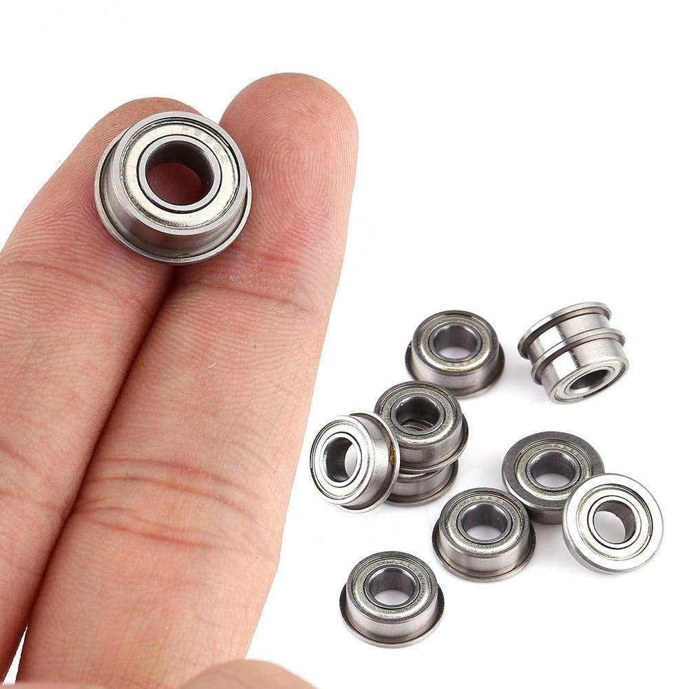 Mini Rodamientos De Bolas Con Bridas 10 Unids F686ZZ Rodamiento Mini Rodamientos De Bolas De Acero Blindado Doble Para Peque/ños Proyectos De Eje//Varilla De 6 Mm De Hobby 6 * 13 * 5 mm