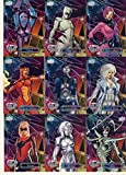 #8: NonSport 2016 Upper Deck Marvel Gems #34 Spider-Woman NM Near Mint 28/225