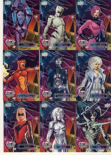 NonSport 2016 Upper Deck Marvel Gems #34 Spider-Woman NM Near Mint 28/225