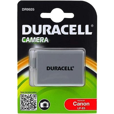 Duracell Batería para Canon EOS 450D: Amazon.es: Electrónica