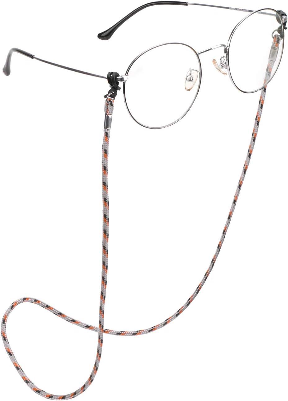 Brillenschnur Brillenkette Brillenkordel Hifot Brillenband Leder 8 St/ück geflochtenem PU leder kette f/ür Lesebrille /& Sonnenbrille Strap